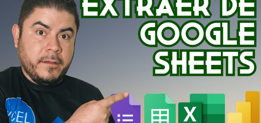 Extraer datos de Google Sheets y Google Forms usando Power Query en Excel y Power BI
